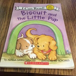 Biscuit and the little pup book